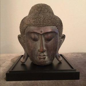 Decorative Buddha Head Sculpture